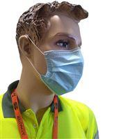 Máscaras Descartáveis de Proteção 3 Camadas - CX 50 uni