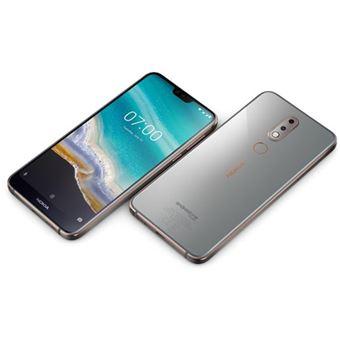 Smartphone Nokia 7.1 - 32GB - Aço Brilhante