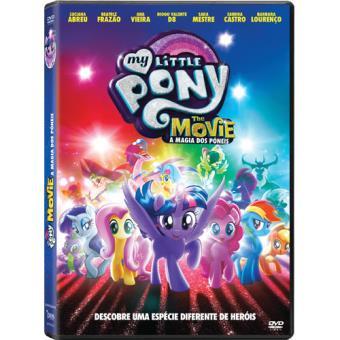 My Little Pony: The Movie - A Magia do Póneis - DVD