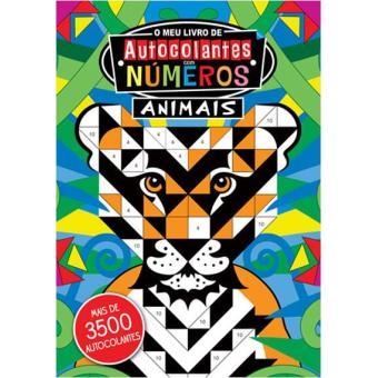 O Meu Livro de Autocolantes com Números - Animais