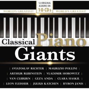 Classical Piano Giants (10CD)