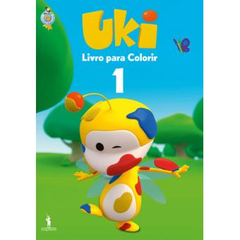 Uki - Livros para Colorir 1