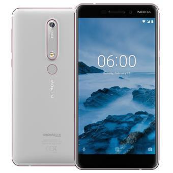 Smartphone Nokia 6.1 - 32GB - Branco
