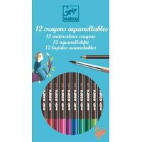 Lápis de Cor Caixa Azul - 12 Unidades