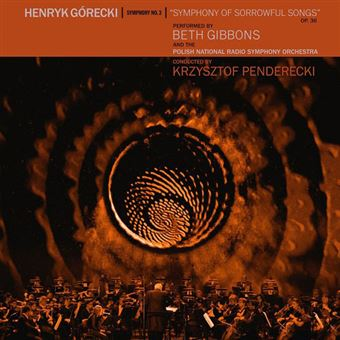 Gorecki: 3rd Symphony - LP 12''