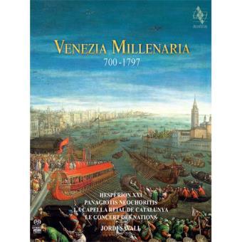 Venezia Millenaria 700-1797 (Livro+CD)