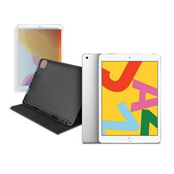 Pack Fnac Apple iPad 10.2'' Wi-Fi - 32GB - Cinzento Sideral + Capa Tucano Up 10.2'' - Preto + Película Ecrã Vidro Temperado Tucano