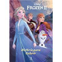 Frozen 2: História para Colorir