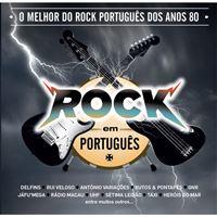 O Melhor do Rock Português dos Anos 80 - CD