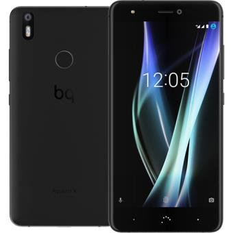 Smartphone BQ Aquaris X - 32GB - Midnight Black