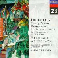 Prokofiev: Piano Concertos Nos. 1 - 5 (Complete) (2CD)