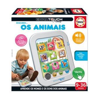 Educa Touch Baby Descubro os Animais