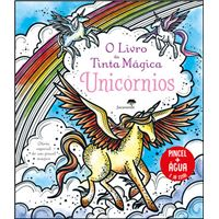 Livro da Tinta Mágica - Unicórnios
