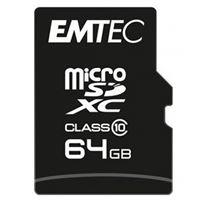 Cartão Micro SDXC Emtec Classic Classe 10 - 64GB