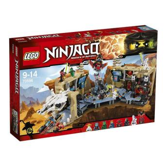 LEGO Ninjago 70596 A Gruta do Caos Samurai  X