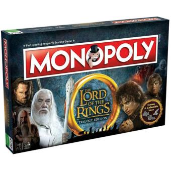 Monopoly Lord of the Rings - Winning Moves
