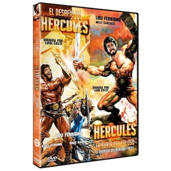 HERCULES-2 FILMES (DVD)