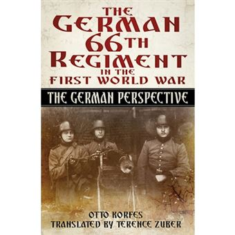 German 66th regiment in the first w