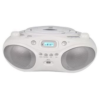 Rádio Leitor de CD's JVC 328W - Branco