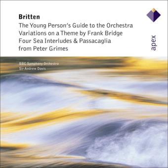 Britten : Orchestral Works - CD
