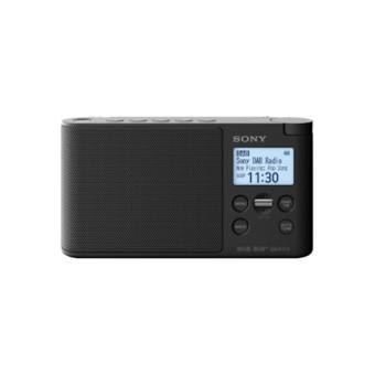 Sony XDR-S41D Portátil Digital Preto rádio