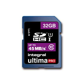 Integral UltimaPro SDHC 32GB 45MB/S Classe 10