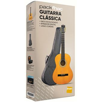 Pack Fnac Guitarra Clássica Squier SA-150N - Exclusivo Fnac