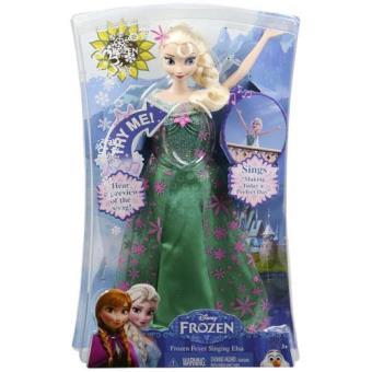 Festa Frozen Elsa Cantora