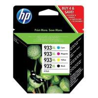 HP Tinteiro 932XL + 933XL Combo Pack (C2P42AE)