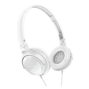 Pioneer Auscultadores SE-MJ502-W Branco