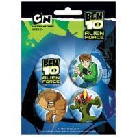 Pack Pins Ben 10 - Alien Force 1