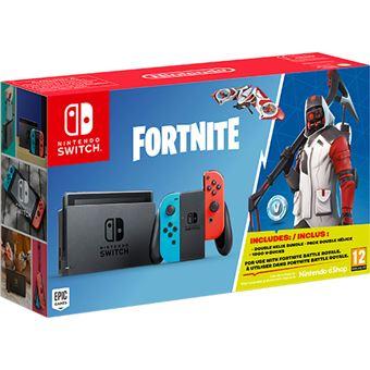 Consola Nintendo Switch Neon + Fortnite