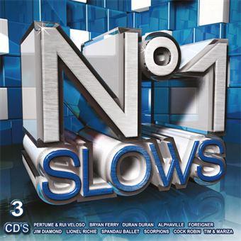Nº 1 Slows - 3CD