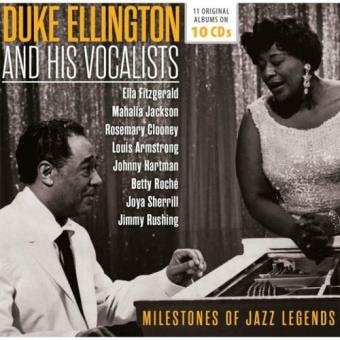 Ellington: Milestones of Jazz Legends - 10CD