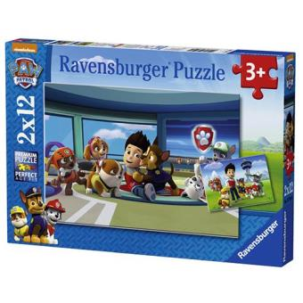 Puzzle Patrulha Pata (Paw Patrol) Amigos do Rider (2 x 12 peças)
