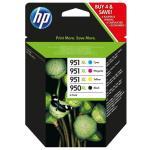 HP Tinteiro 950XL + 951XL Combo Pack (C2P43AE)