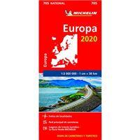 Europa 2020-mapa