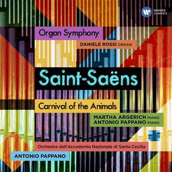 Saint-Saens: Organ Symphony & Carnival of the Animals - CD