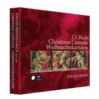 Bach: Christmas Cantatas BWV 40,41,63,64,65,91,121,122,133,152,190,191 (3CD)