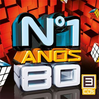Nº 1 Anos 80 - 3CD