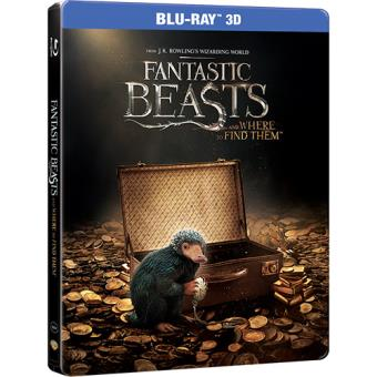 Monstros Fantásticos e Onde Encontrá-los - Caixa Metálica (Blu-ray 3D + 2D)