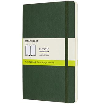 Caderno Liso Moleskine Soft Grande - Verde Myrtle
