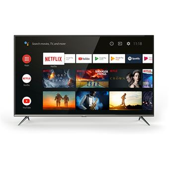 Smart TV Android TCL HDR UHD 4K 50EP640 127cm