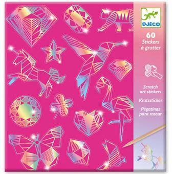 Arte de Riscar: Diamond - 60 Autocolantes - Djeco