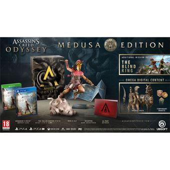 Assassin's Creed Odyssey - Medusa Edition - PS4