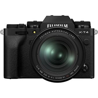 Fujifilm X-T4 + XF 16-80mm f/4 R OIS WR - Preto
