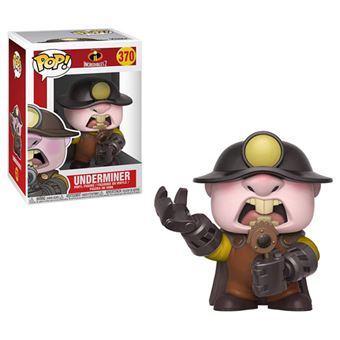 Funko Pop! The Incredibles 2: Underminer - 370