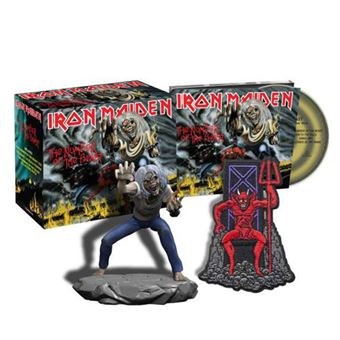 The Number of the Beast - CD + Figura + Emblema