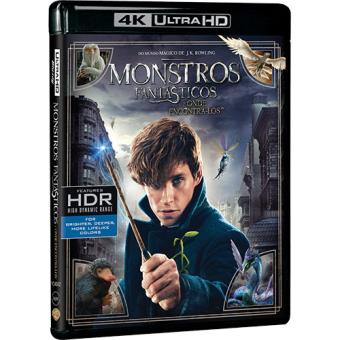 Monstros Fantásticos e Onde Encontrá-los (4K Ultra HD + Blu-ray)