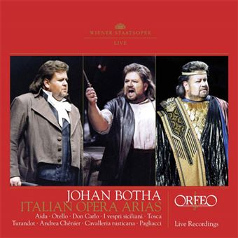 Johan Botha: Italian Opera Arias - 2CD
